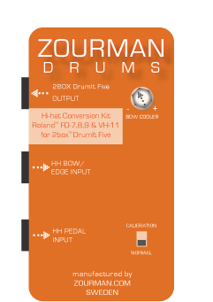 Amazing video review of Zourman Drum Hi-hat Conversion Module!