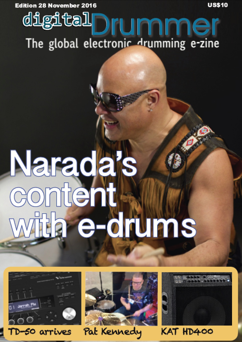 Read the latest edition of digitalDrummer