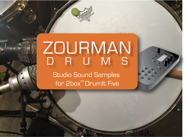 Zourman Drums Samples: Ludwig Black Beauty 1920s