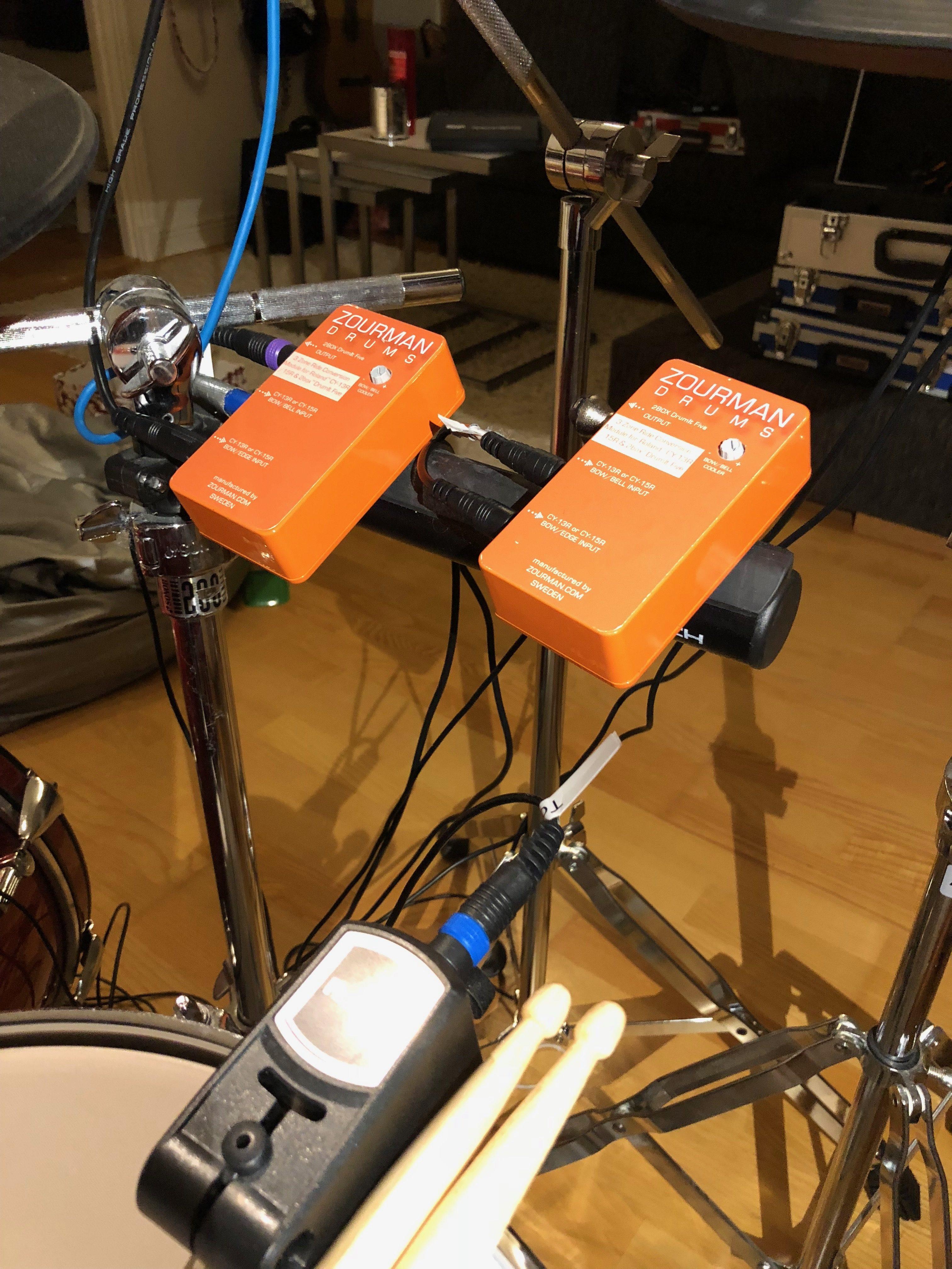 Roland 3 Zone Ride Conversion Module for 2box DrumIt Five