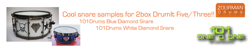 101Drums Snare Samples